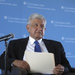 AMLO en Universidad Columbia, NY 02