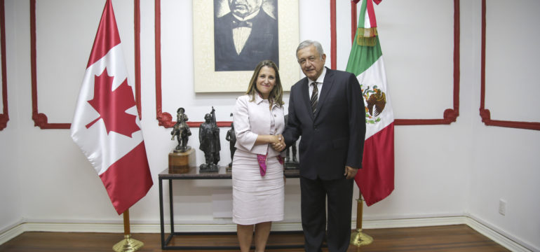 AMLO-Chrystia Freeland 03