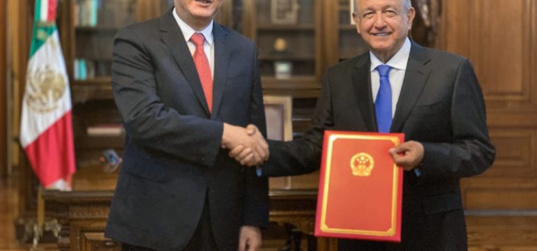 12 08 2019 PRESIDENTE RECIBE CARTAS CREDENCIALES CREDENCIALES DEL EMBAJADOR DE REPUBLICA POPULAR CHINA 01